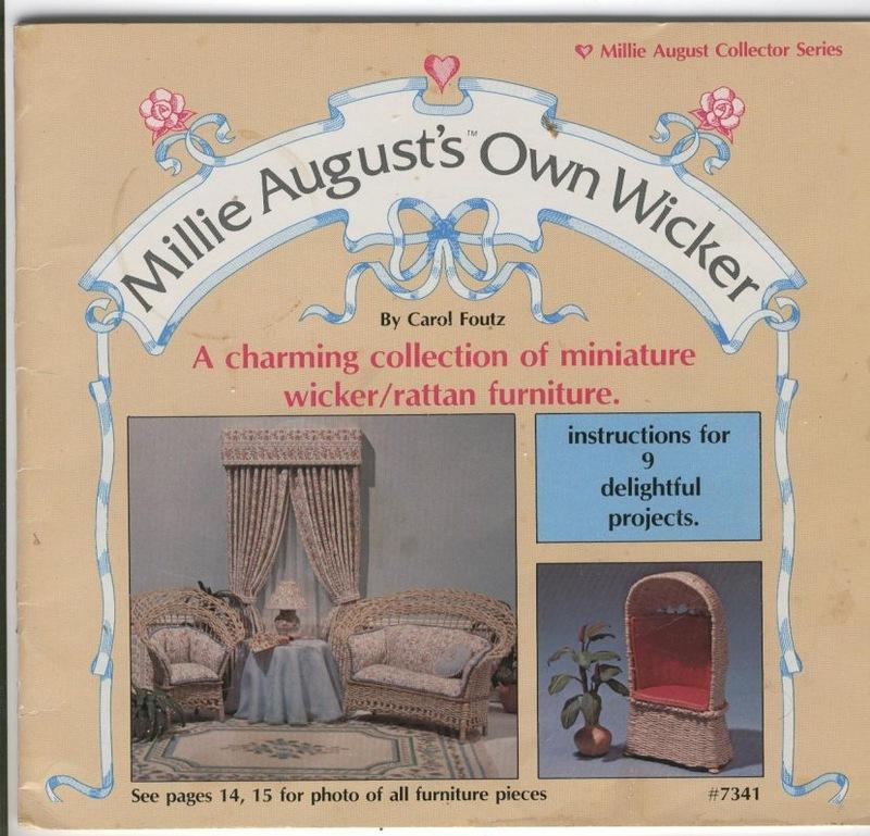 Livre millie august's own wicker Millie10
