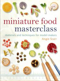 Livre Miniature food masterclass Miniat18