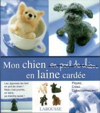 Livre Mon chien en laine cardée Monchi10