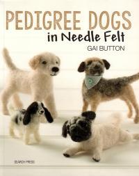 Livre Pedigree dogs in needle felt Pedigr10