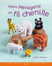 Livre  Petite ménagerie en fil chenille Petite10