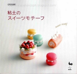 Livre polymer clay (aliments) Polyme10