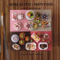 Livre Repas de fête en miniature  Repasd10