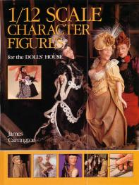 Livre character figures for the dolls'house Scalec10