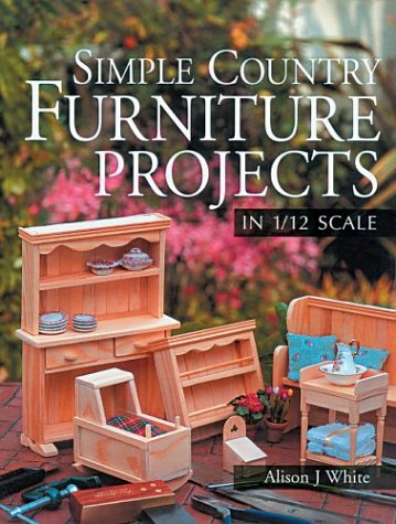 Livre  Simple Country Furniture projects in 1/12 scale Simple10