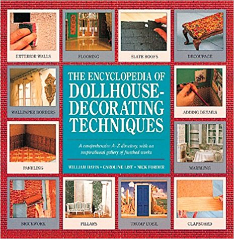 Livre The Encyclopedia of Dollhouse Decorating Techniques The_en10
