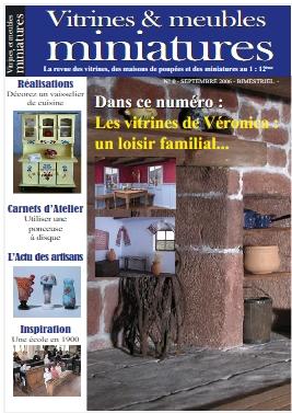 magazine vitrines et meubles miniatures - Gratuit Vit10