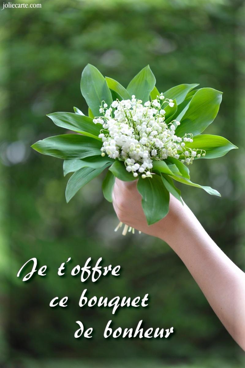 Bon 1er mai avec beaucoup de bonheur Bouque10