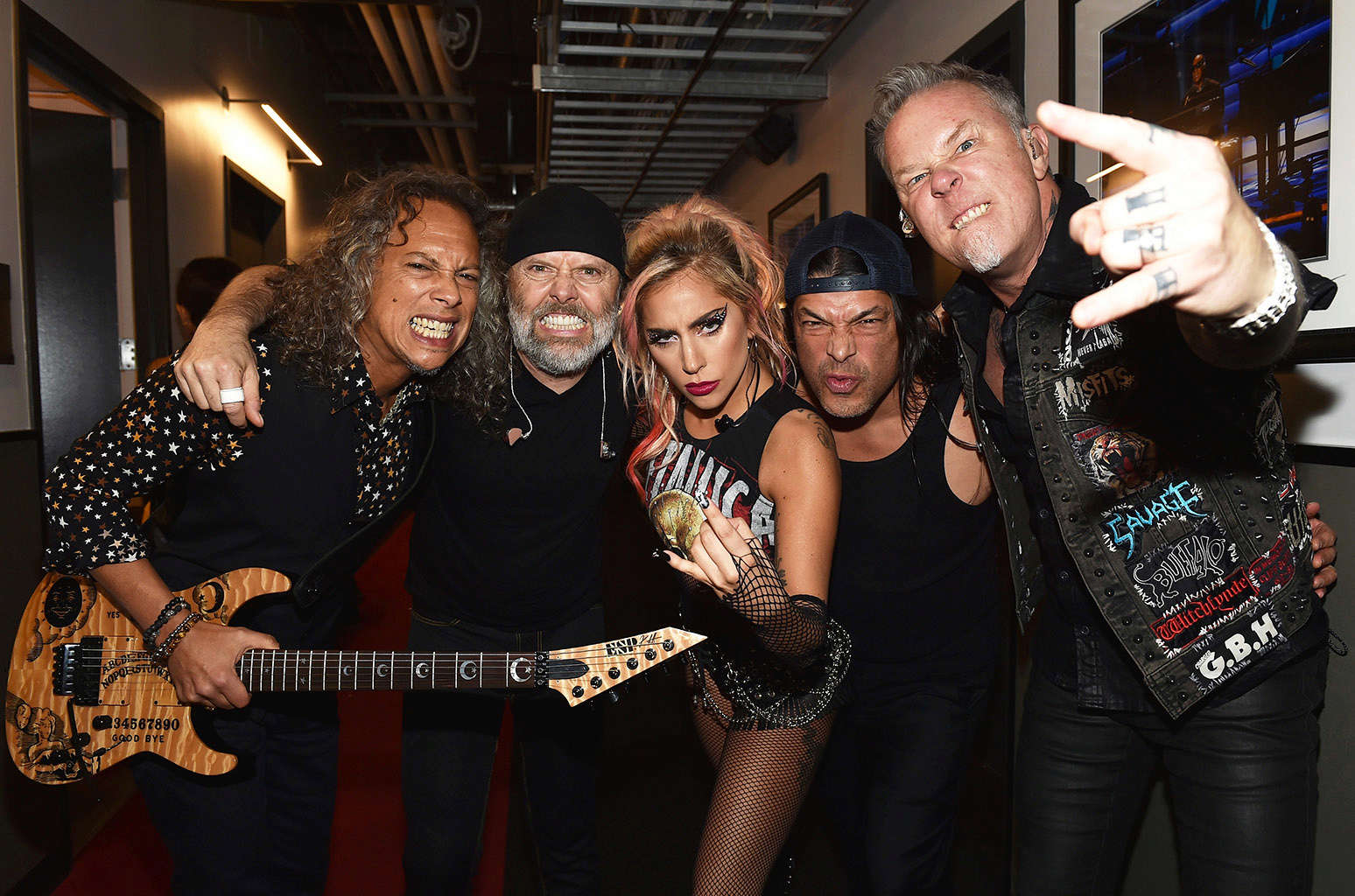 METALLICA et LADY GAGA (Grammy Awards 2017) ! 1012