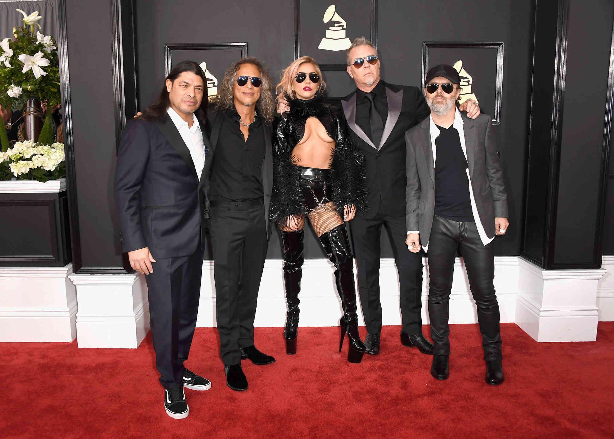 METALLICA et LADY GAGA (Grammy Awards 2017) ! 1211