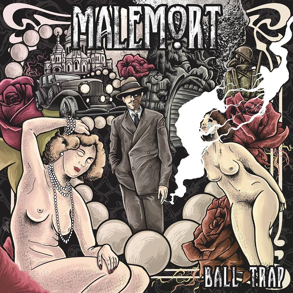 MALEMORT  Ball Trap (2017) Hard-Rock Paris 15203310