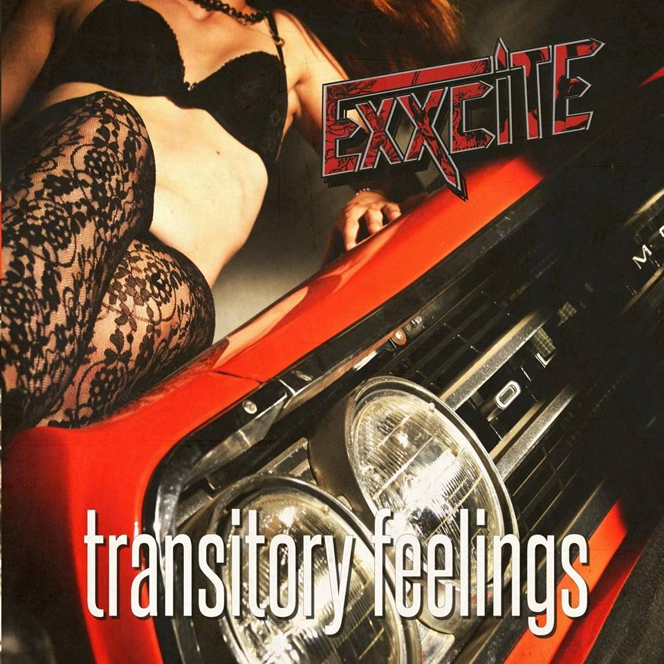 "EXXCITE ""Transitory Feelings"" glam heavy-rock 2017 16508210"
