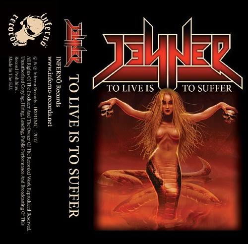 JENNER To Live Is To Suffer (2017) Speed-Metal au féminin SERBIE 16864310