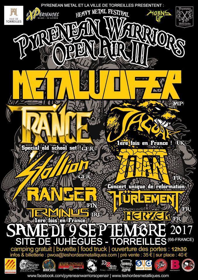 Pyrenean Warriors Open Air 3 aura bien lieu ... 17156010