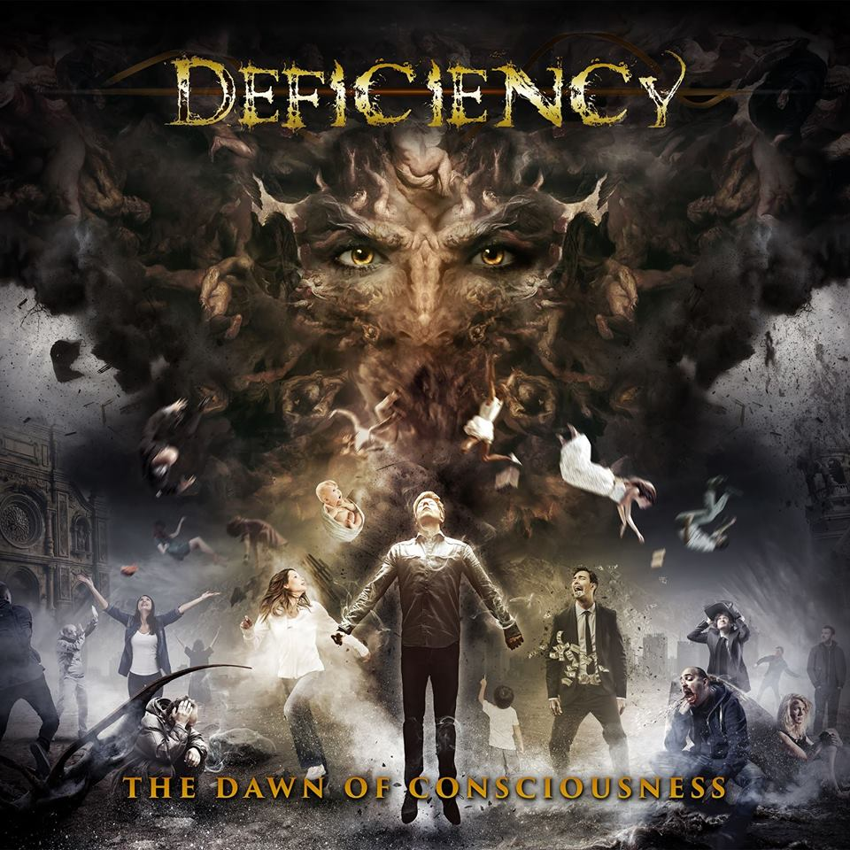 DEFICIENCY The Dawn of Consciousness (2017) Thrash Forbach en Moselle 17203210