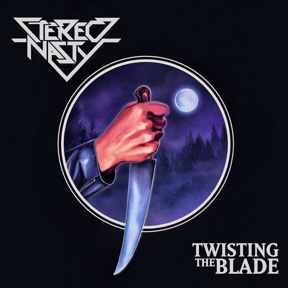 STEREO NASTY Twisting The Blade (2017) Heavy Metal IRLANDE 18893210