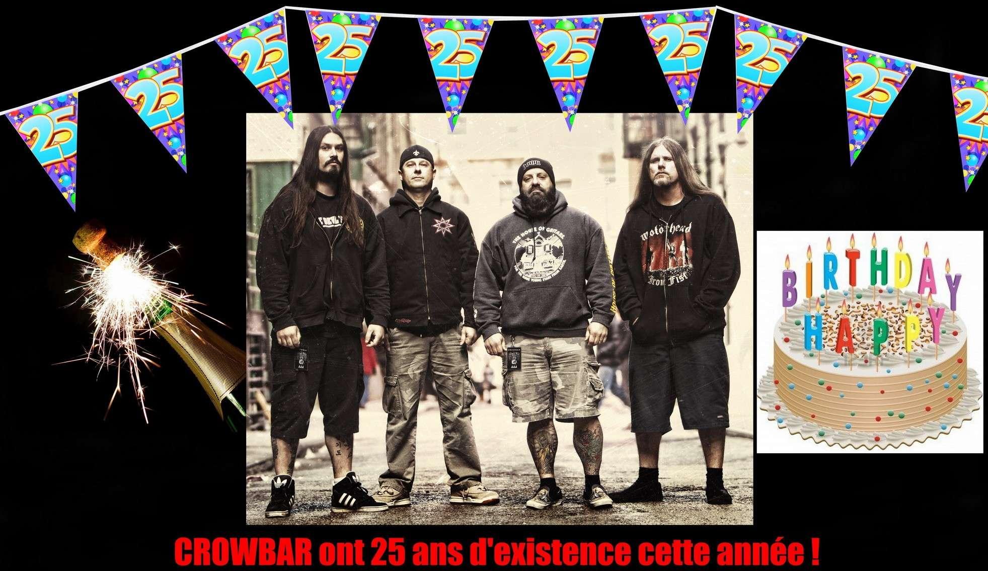 Les NEWS du METAL en VRAC ... - Page 3 Crowba13