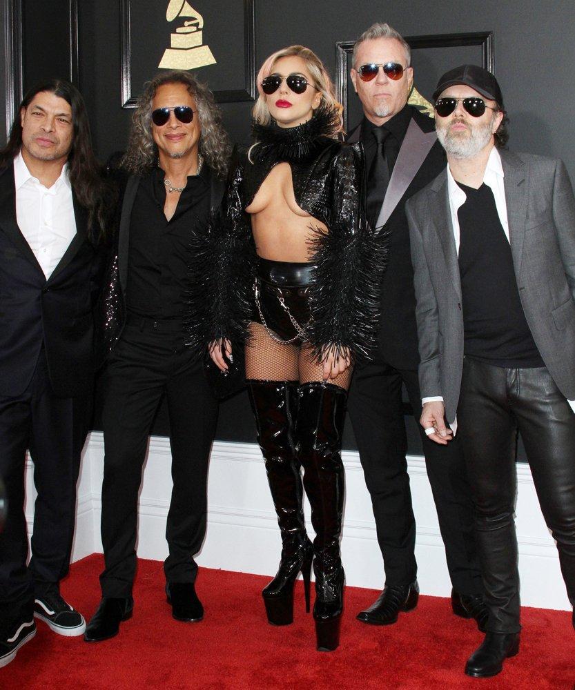 METALLICA et LADY GAGA (Grammy Awards 2017) ! Gaga-m10