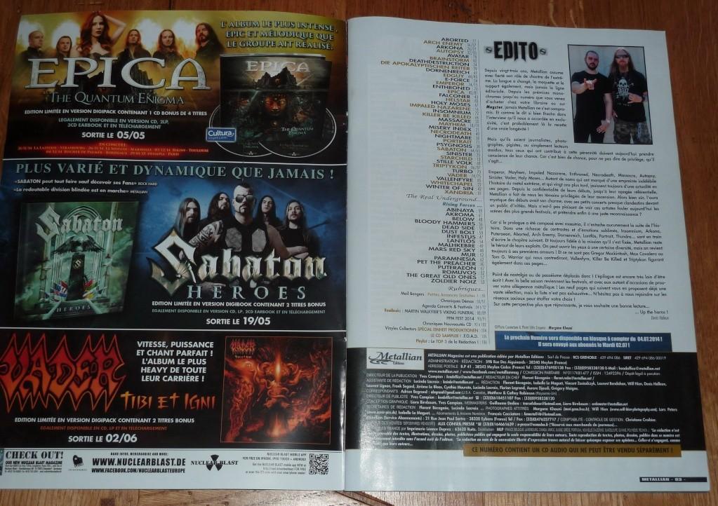 Les NEWS du METAL en VRAC ... - Page 2 M211