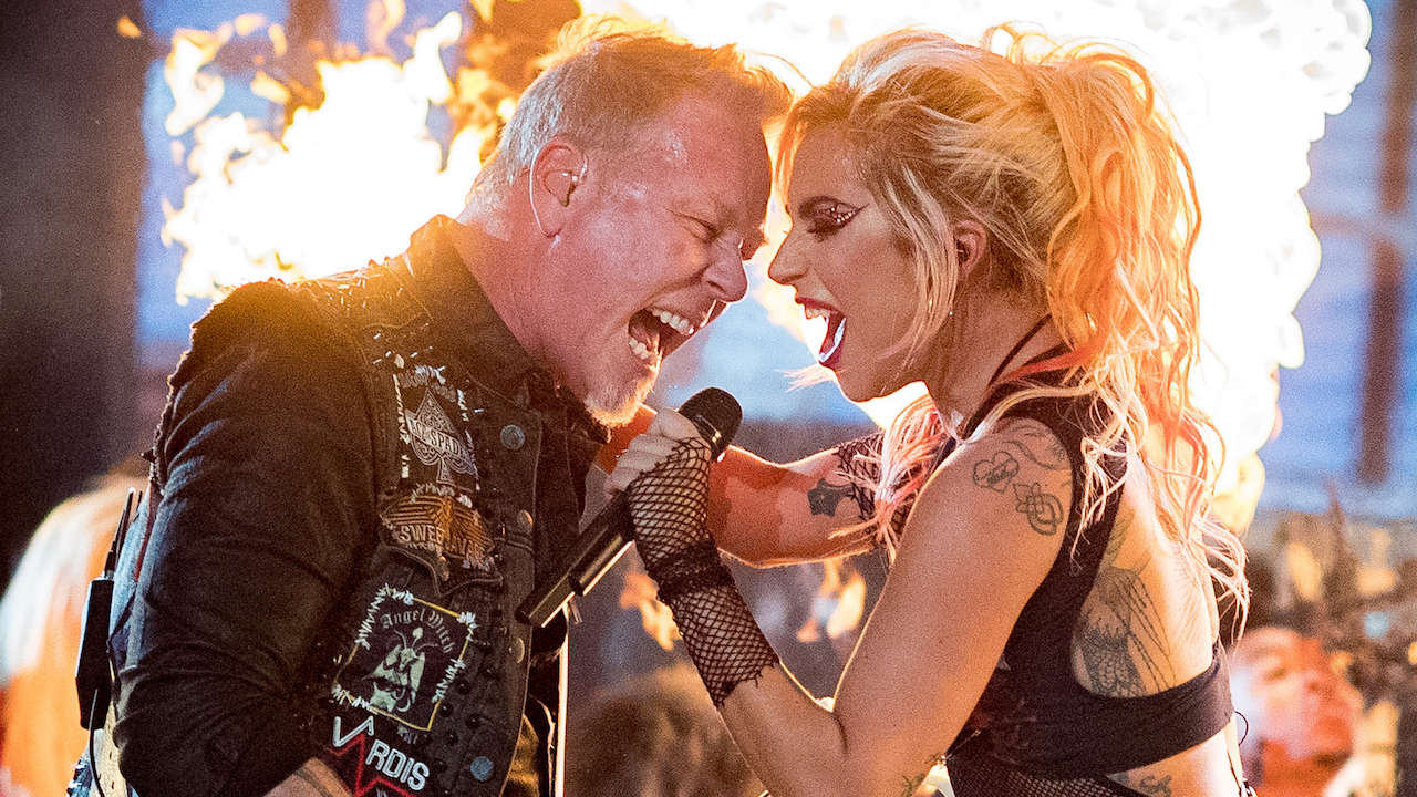 METALLICA et LADY GAGA (Grammy Awards 2017) ! Metall21