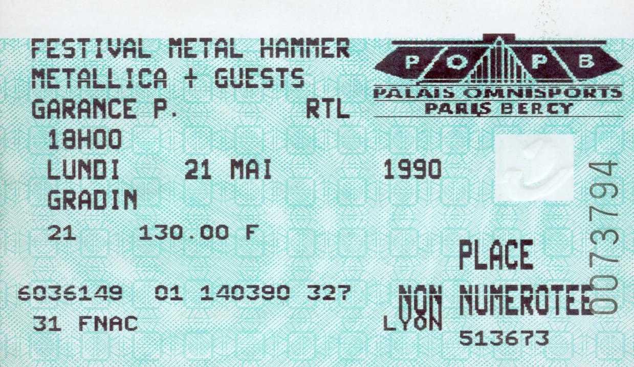 Le jeu des places de concert ... Metall22