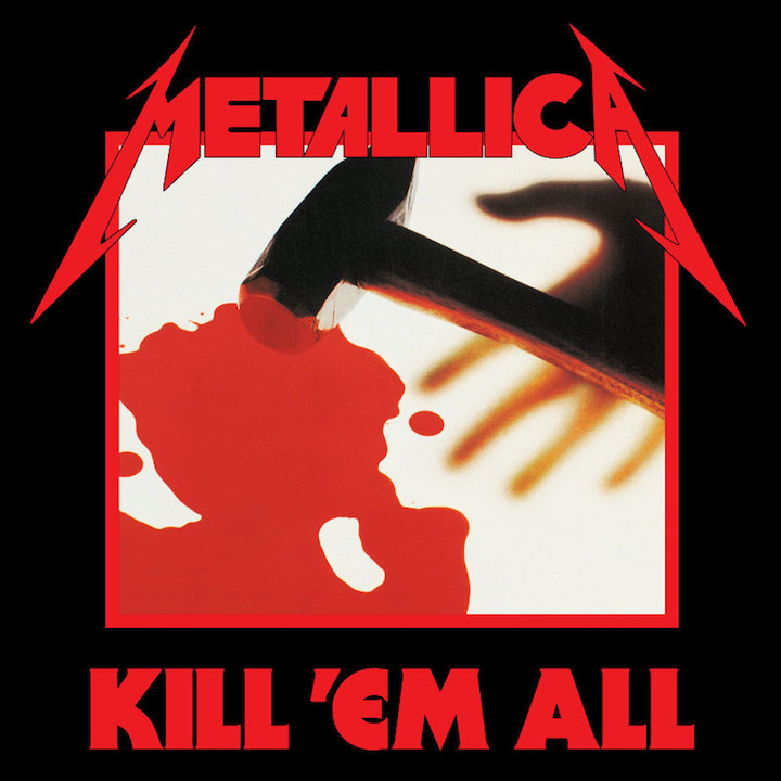"Le ""KILL'EM'ALL""  de Metallica a 34 ans ... Metall23"