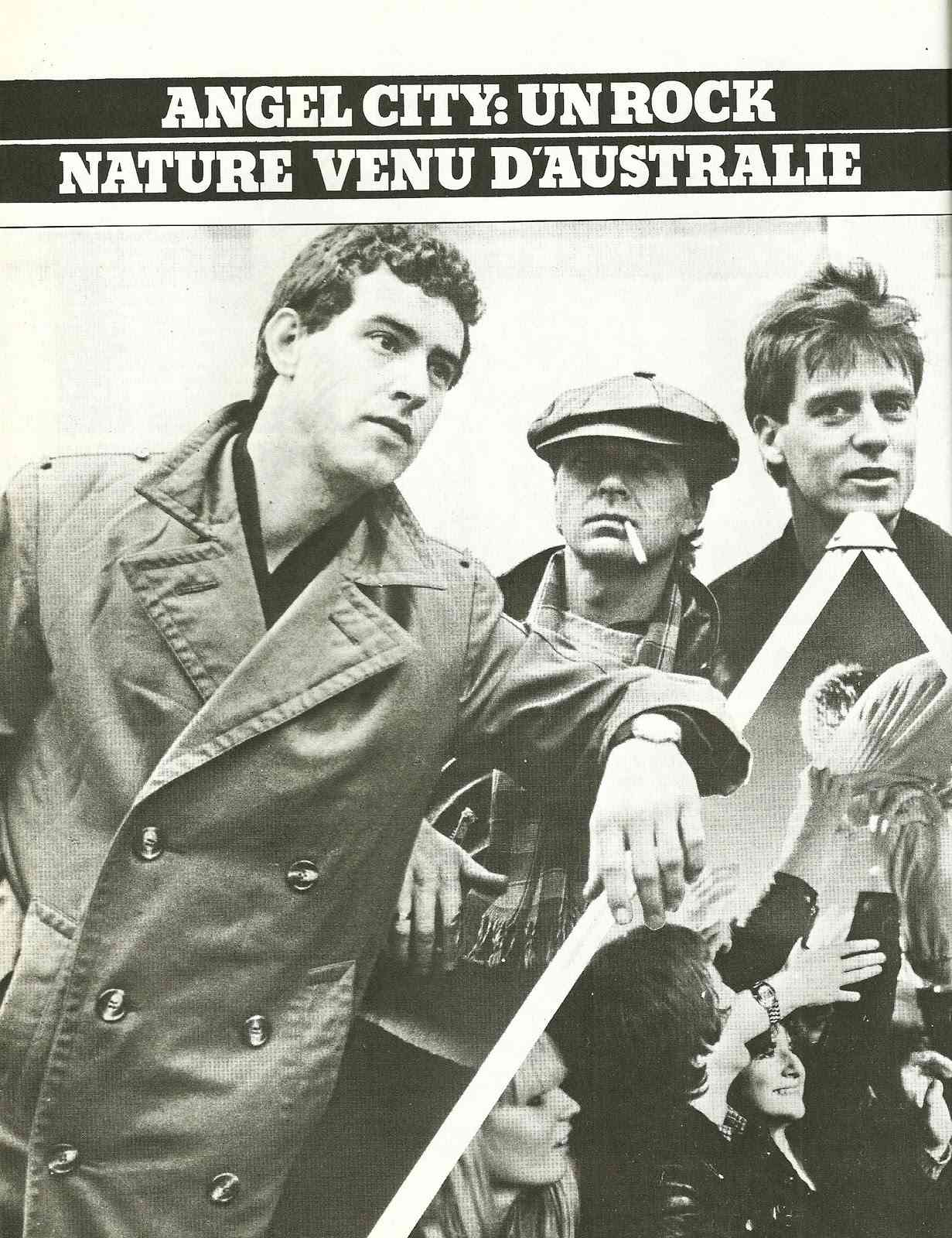 Interview ANGEL CITY dans Guitare Magazine de Février 1981. Numyri15