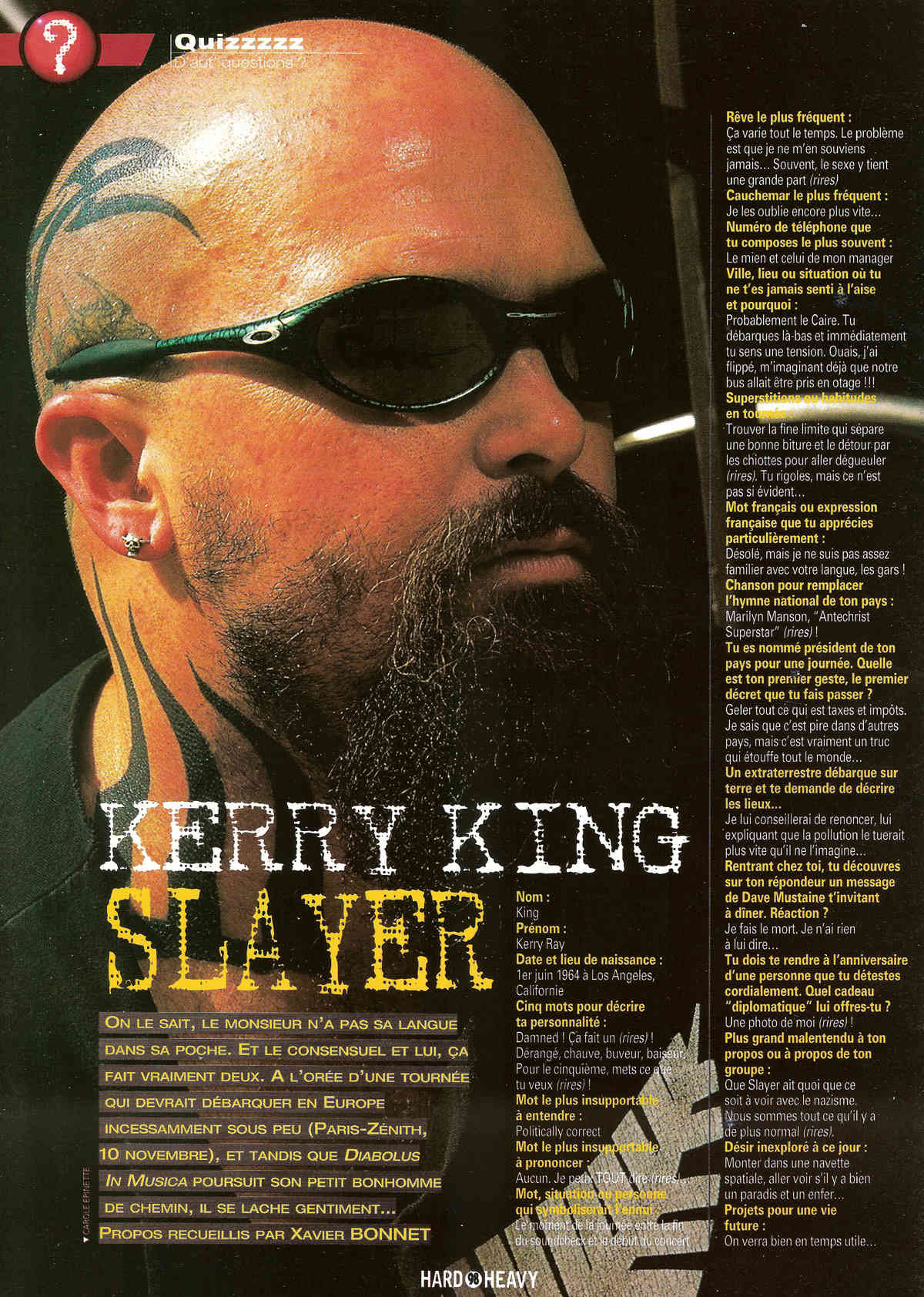 QUIZZ KERRY KING archive Hard&Heavy  Quizz_12