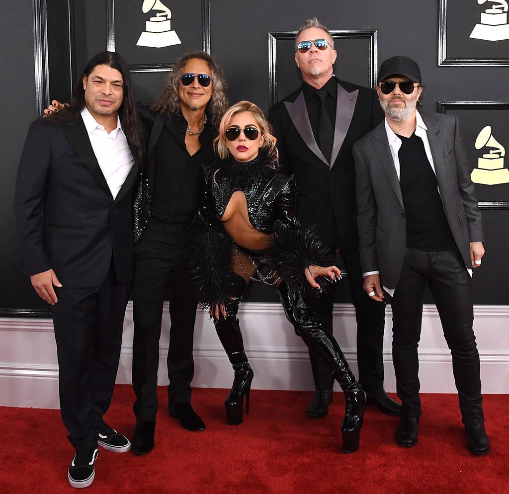 METALLICA et LADY GAGA (Grammy Awards 2017) ! Rs_10210
