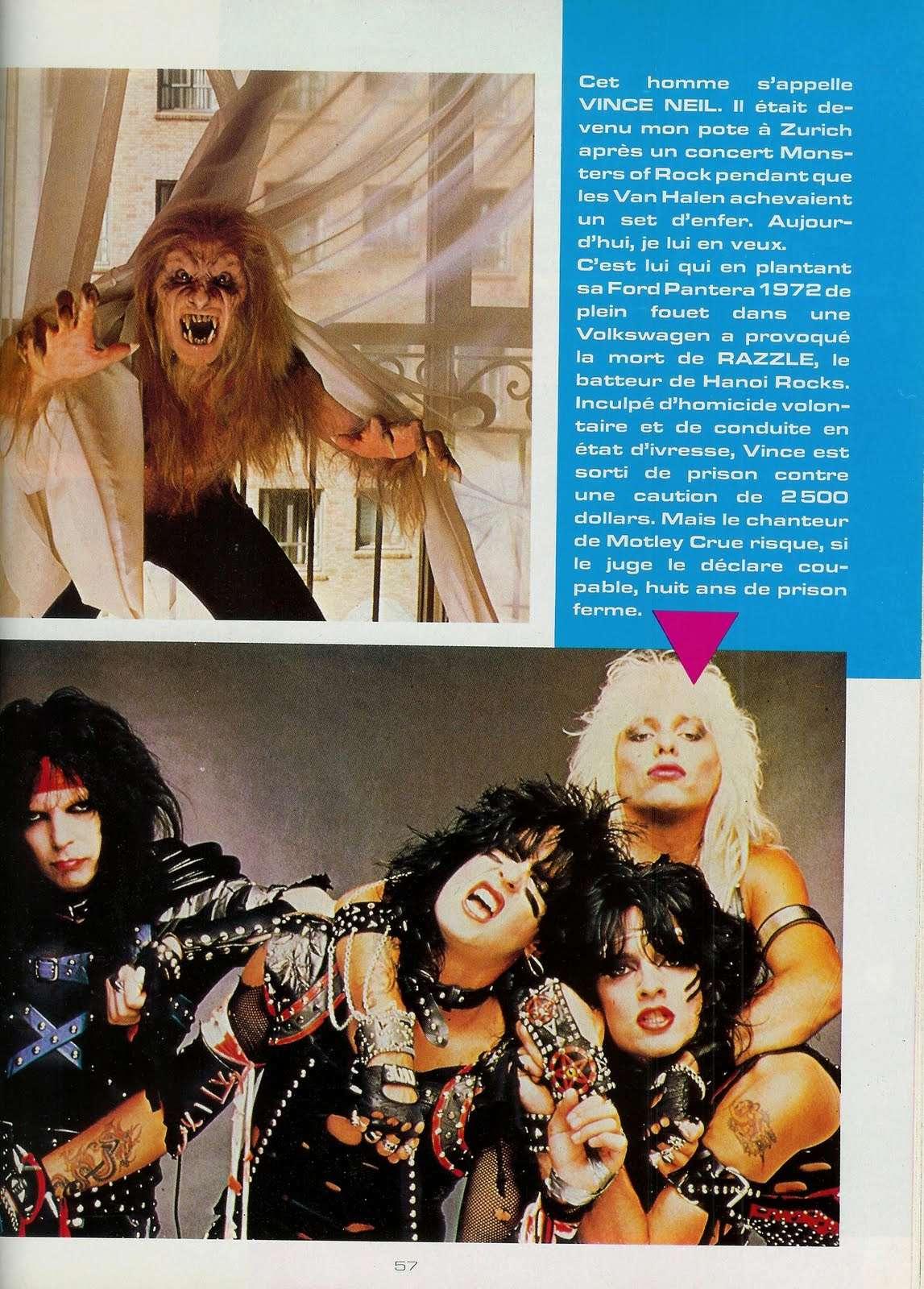 METAL HURLANT Février 1985 : toutes les photos de la catastrophe Hard-Rock ... Scan0015
