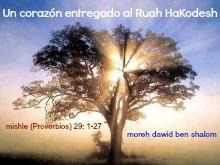 Perlas de Sabiduría: Un corazón entregado al Ruah HaKodesh. 1un_co10