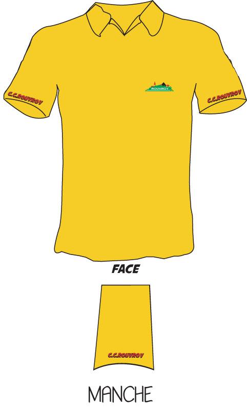 Polo jaune du club Polo_c12