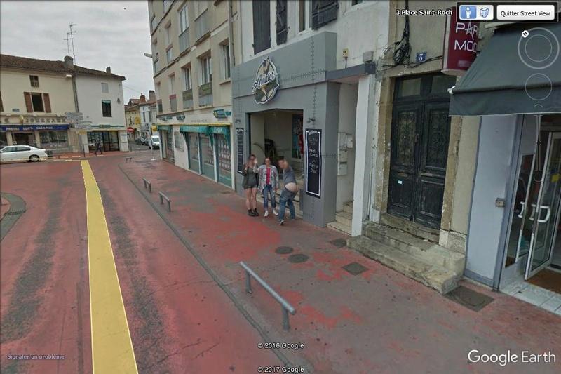 Street View : surprise à Mont de Marsan - Landes Surpri10