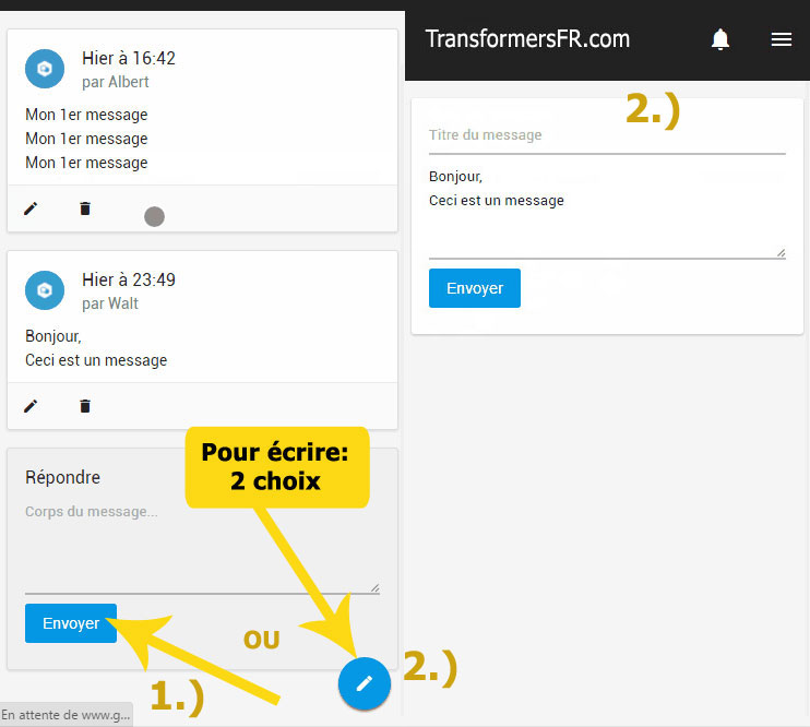 FAQ - Forum Transformers et Site web Mobecr10