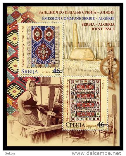 Emission commune Algérie- Serbie. B210
