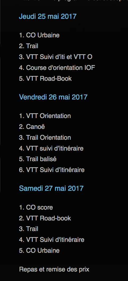 "sortie VTT jeudi 25 mai : ""La Teyrannaise Captur12"