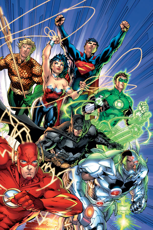"""[DC] Justice League """"New 52"""" Justic11"""