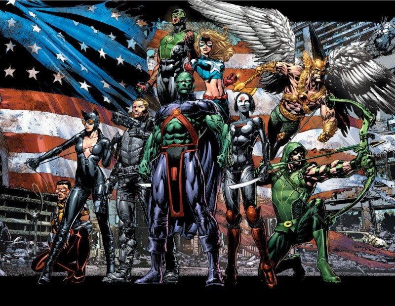 "[DC Justice League of America ""New 52"" Justic13"
