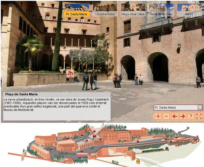 Monastère de MONTSERRAT, Catalogne, ESPAGNE Captur64