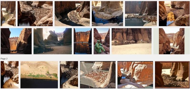 Sahara - Tchad - Ennedi - Guelta d'Archeï Captur67