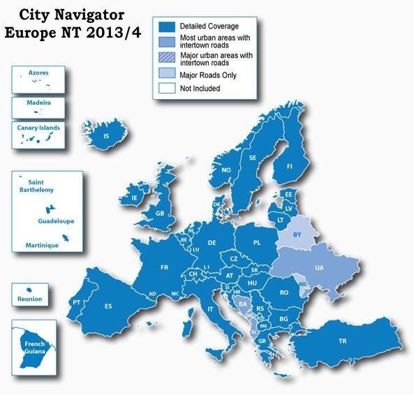 [résolu] City Navigator Europe City_n11