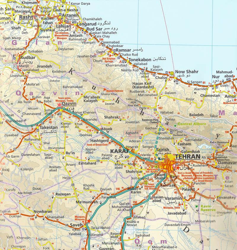 Cartes de randonnées - Cartes et plans touristiques. - Page 2 Iran-m10