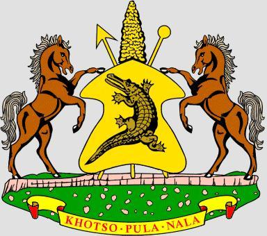 [Lesotho] Armoiries du Lesotho - Lower Thetsane - Maseru Lesoto11