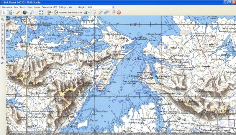 SAS Planet et Google Earth Saspla12