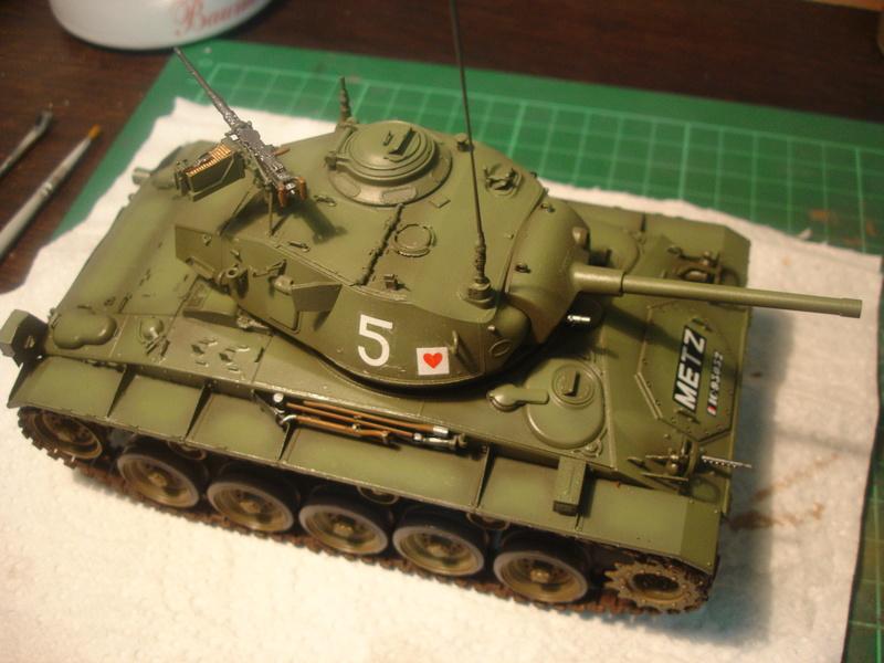 M24 Chaffee - The first Indochina war - AFV Club 1/35 Dsc00010
