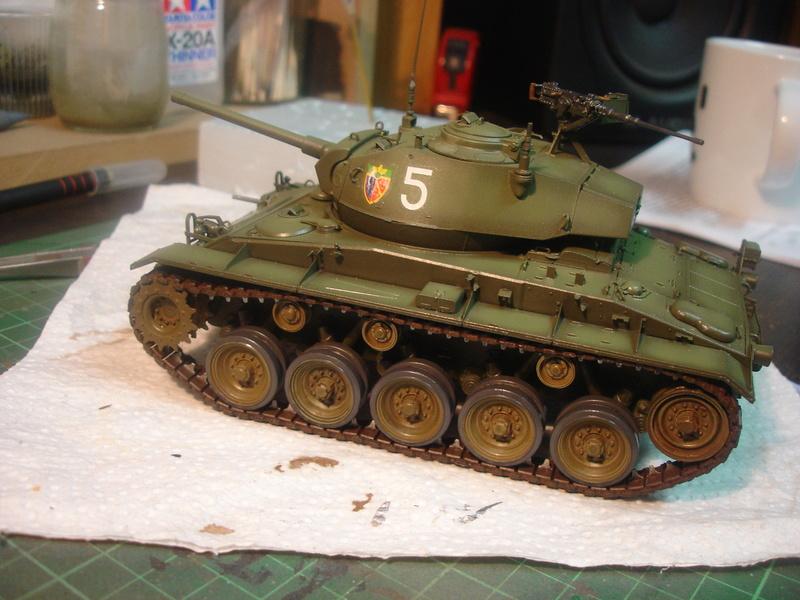 M24 Chaffee - The first Indochina war - AFV Club 1/35 Dsc00012