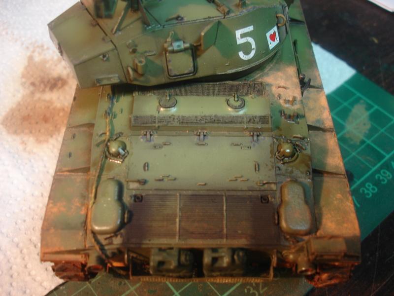 M24 Chaffee - The first Indochina war - AFV Club 1/35 - Page 2 Dsc00020