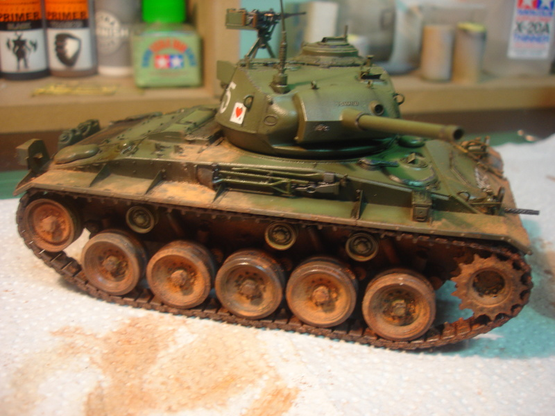 M24 Chaffee - The first Indochina war - AFV Club 1/35 - Page 2 Dsc00021