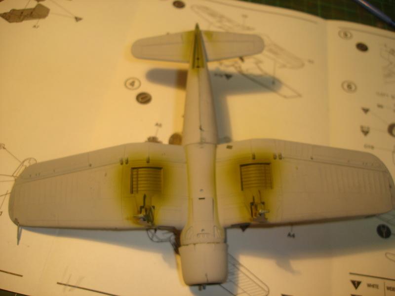 F4U-1 US Navy fighter ACADEMY HOBBY MODEL 1/72 Dsc00042