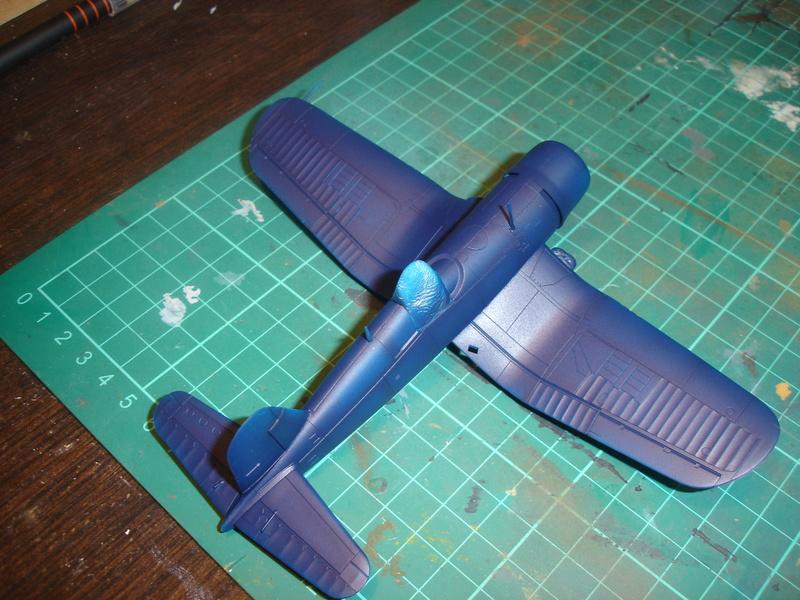 F4U-1 US Navy fighter ACADEMY HOBBY MODEL 1/72 Dsc00050